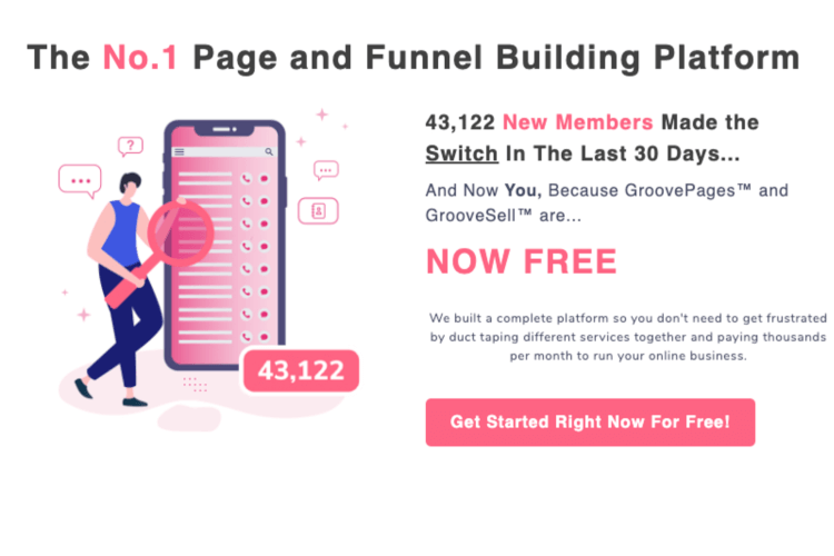 What is GrooveFunnels? An infographic explaining