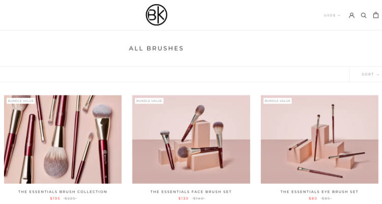 BK Beauty products for affiliate marketing