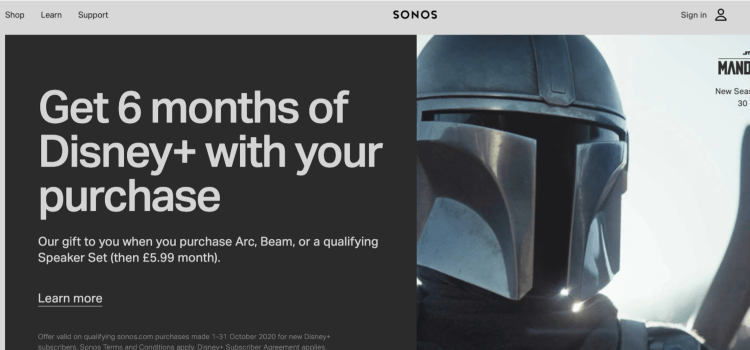 Sonos technology affiliate products